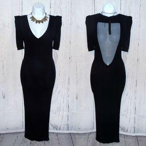 NWT Stella & Jamie Bodycon Midi Dress